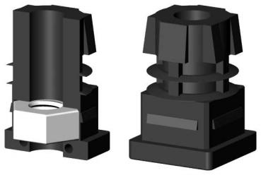 aluminium rohr stecksystem. Black Bedroom Furniture Sets. Home Design Ideas
